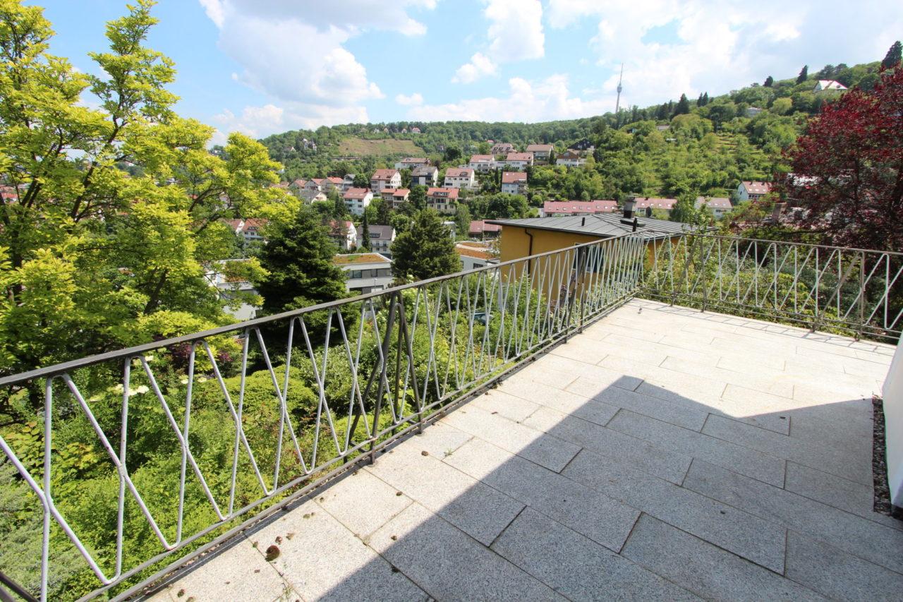 Aussicht Vom Balkon 2 Sb Immobilien