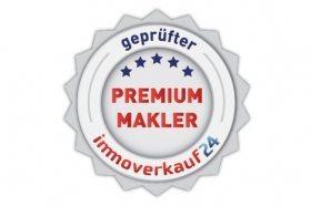 Auszeichnung als geprüfter Premium Makler von immoverkauf24