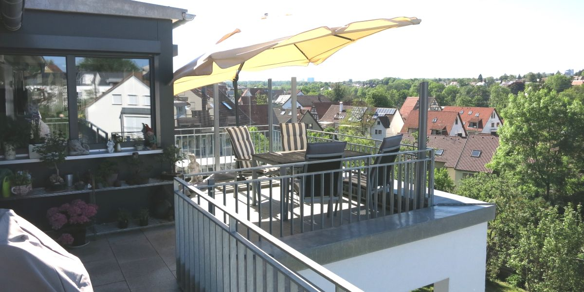 Maisonette Wohnung Zu Verkaufen Stuttgart Ostfildern Terrasse